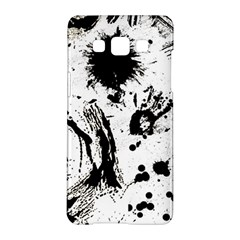 Pattern Color Painting Dab Black Samsung Galaxy A5 Hardshell Case