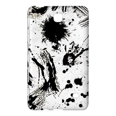 Pattern Color Painting Dab Black Samsung Galaxy Tab 4 (7 ) Hardshell Case