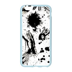 Pattern Color Painting Dab Black Apple Seamless iPhone 6/6S Case (Color)