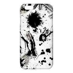 Pattern Color Painting Dab Black iPhone 6/6S TPU Case
