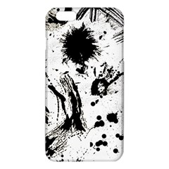 Pattern Color Painting Dab Black iPhone 6 Plus/6S Plus TPU Case