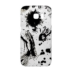 Pattern Color Painting Dab Black Galaxy S6 Edge