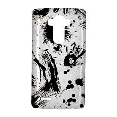 Pattern Color Painting Dab Black LG G4 Hardshell Case