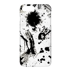 Pattern Color Painting Dab Black Apple iPhone 7 Plus Hardshell Case