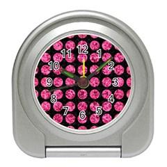 CIR1 BK-PK MARBLE Travel Alarm Clocks