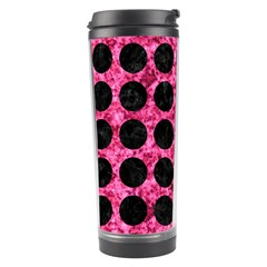 CIR1 BK-PK MARBLE (R) Travel Tumbler