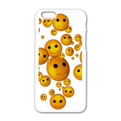 smilies-110650_1280 Apple iPhone 6/6S White Enamel Case