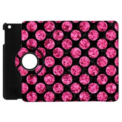 CIR2 BK-PK MARBLE Apple iPad Mini Flip 360 Case