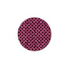 CIR3 BK-PK MARBLE Golf Ball Marker