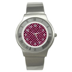 CIR3 BK-PK MARBLE Stainless Steel Watch