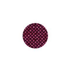 CIR3 BK-PK MARBLE (R) 1  Mini Magnets