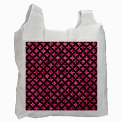 CIR3 BK-PK MARBLE (R) Recycle Bag (Two Side)