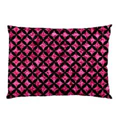 CIR3 BK-PK MARBLE (R) Pillow Case (Two Sides)
