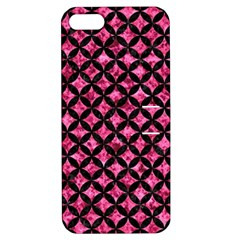 CIR3 BK-PK MARBLE (R) Apple iPhone 5 Hardshell Case with Stand