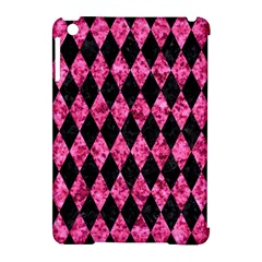 DIA1 BK-PK MARBLE Apple iPad Mini Hardshell Case (Compatible with Smart Cover)