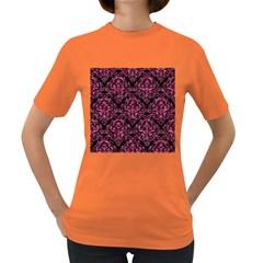 DMS1 BK-PK MARBLE Women s Dark T-Shirt
