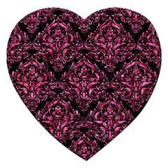 DMS1 BK-PK MARBLE Jigsaw Puzzle (Heart)