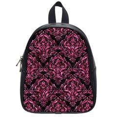 DMS1 BK-PK MARBLE School Bags (Small)