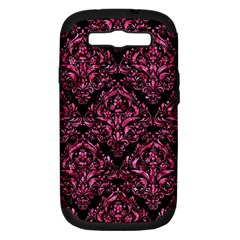 DMS1 BK-PK MARBLE Samsung Galaxy S III Hardshell Case (PC+Silicone)
