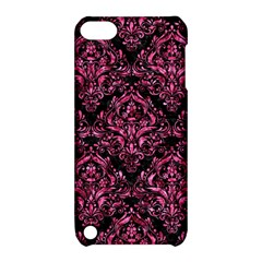 DMS1 BK-PK MARBLE Apple iPod Touch 5 Hardshell Case with Stand
