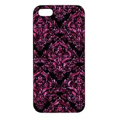 DMS1 BK-PK MARBLE iPhone 5S/ SE Premium Hardshell Case