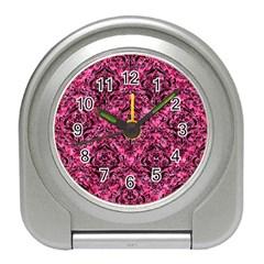DMS1 BK-PK MARBLE (R) Travel Alarm Clocks