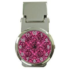 DMS1 BK-PK MARBLE (R) Money Clip Watches