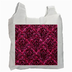 DMS1 BK-PK MARBLE (R) Recycle Bag (One Side)