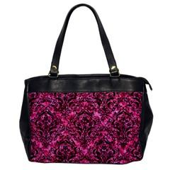 DMS1 BK-PK MARBLE (R) Office Handbags