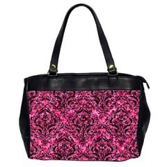DMS1 BK-PK MARBLE (R) Office Handbags (2 Sides)
