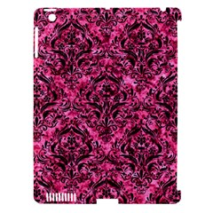 DMS1 BK-PK MARBLE (R) Apple iPad 3/4 Hardshell Case (Compatible with Smart Cover)