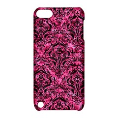 DMS1 BK-PK MARBLE (R) Apple iPod Touch 5 Hardshell Case with Stand