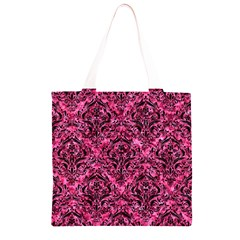 DMS1 BK-PK MARBLE (R) Grocery Light Tote Bag