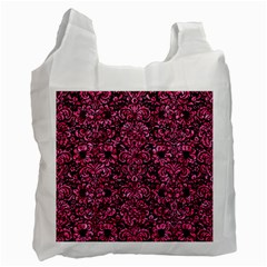 DMS2 BK-PK MARBLE Recycle Bag (Two Side)
