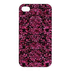 DMS2 BK-PK MARBLE Apple iPhone 4/4S Premium Hardshell Case