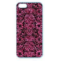 DMS2 BK-PK MARBLE Apple Seamless iPhone 5 Case (Color)