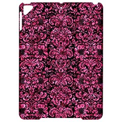 Damask2 Black Marble & Pink Marble Apple Ipad Pro 9 7   Hardshell Case