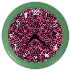 DMS2 BK-PK MARBLE (R) Color Wall Clocks