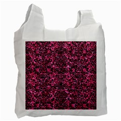 DMS2 BK-PK MARBLE (R) Recycle Bag (One Side)