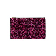 DMS2 BK-PK MARBLE (R) Cosmetic Bag (Small)