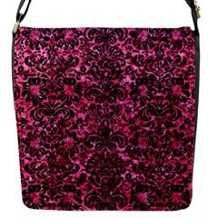 DMS2 BK-PK MARBLE (R) Flap Messenger Bag (S)