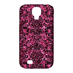 DMS2 BK-PK MARBLE (R) Samsung Galaxy S4 Classic Hardshell Case (PC+Silicone)