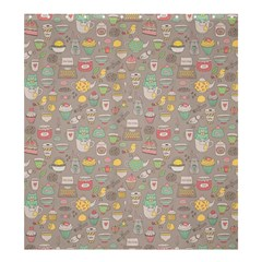 Tea Party Pattern Shower Curtain 66  x 72  (Large)