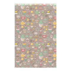 Tea Party Pattern Shower Curtain 48  x 72  (Small)