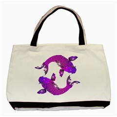 Koi Carp Fish Water Japanese Pond Basic Tote Bag
