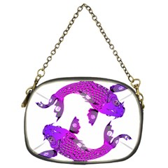 Koi Carp Fish Water Japanese Pond Chain Purses (Two Sides)