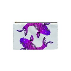 Koi Carp Fish Water Japanese Pond Cosmetic Bag (Small)