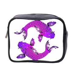 Koi Carp Fish Water Japanese Pond Mini Toiletries Bag 2-Side