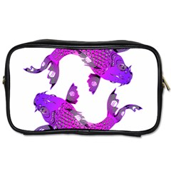 Koi Carp Fish Water Japanese Pond Toiletries Bags 2-Side