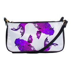 Koi Carp Fish Water Japanese Pond Shoulder Clutch Bags
